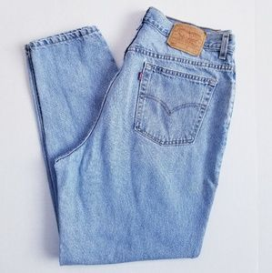 Vtg Levi's 550 Sz 20M Made in USA